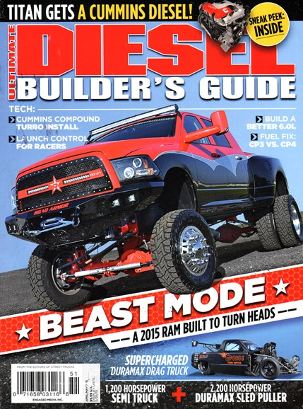 Ultimate Diesel Builder's Guide Cover - 4/1/2015