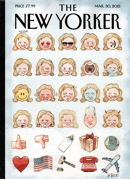 The New Yorker Cover - 3/30/2015