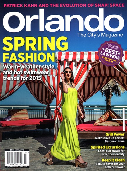Orlando Magazine Cover - 4/1/2015