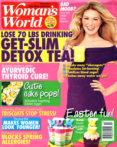 Woman's World Cover - 4/6/2015