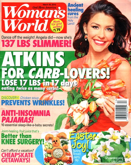 Woman's World Cover - 3/30/2015