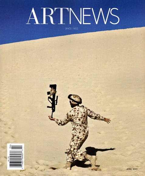 ARTnews Cover - 4/1/2015