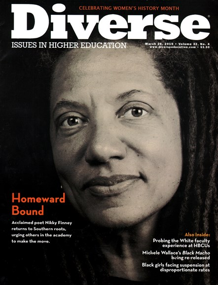 Diverse: Issues In Higher Education Cover - 3/26/2015