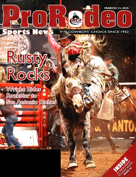 Pro Rodeo Sports News Cover - 3/13/2015