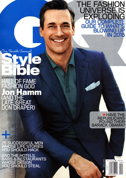 Gentlemen's Quarterly - GQ Cover - 4/1/2015