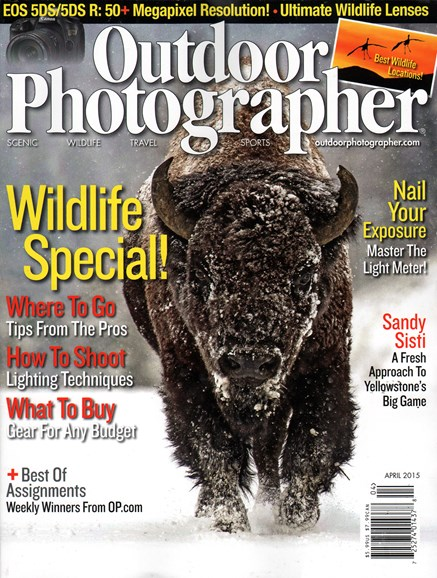 Outdoor Photographer Cover - 4/1/2015