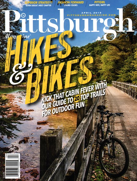 Pittsburgh Magazine Cover - 4/1/2015