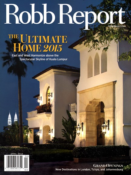Robb Report Cover - 4/1/2015