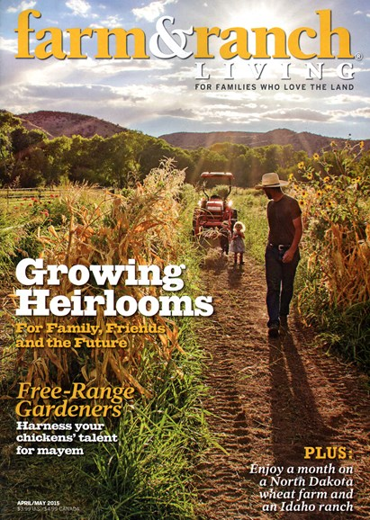 Farm & Ranch Living Cover - 4/1/2015
