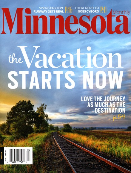 Minnesota Monthly Cover - 4/1/2015