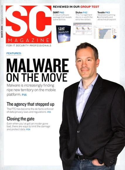 SC Magazine - U.S. edition Cover - 3/1/2015