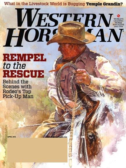 Western Horseman Cover - 4/1/2015