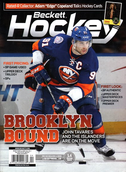 Beckett Hockey Cover - 4/1/2015