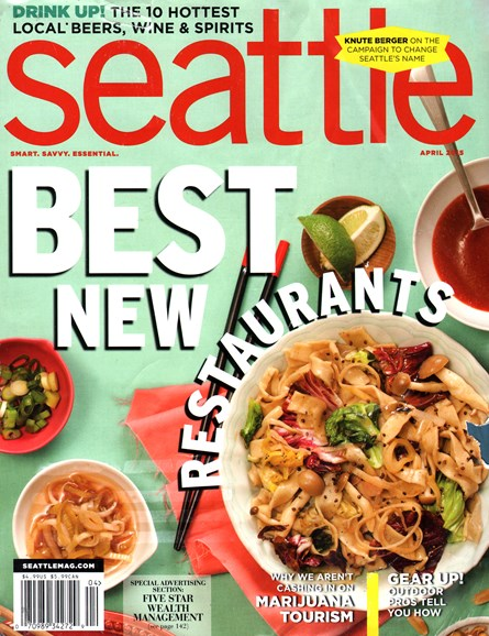 Seattle Magazine Cover - 4/1/2015