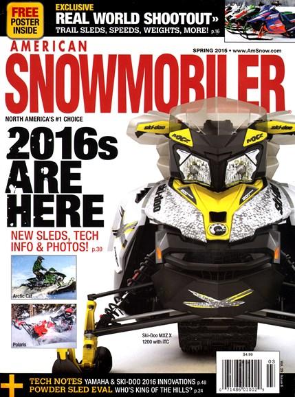 American Snowmobiler Cover - 3/1/2015