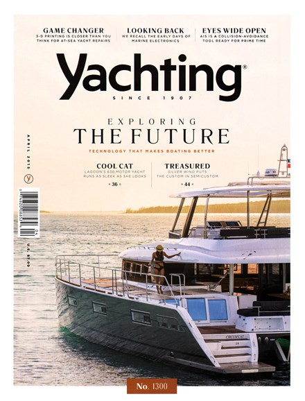 Yachting Cover - 4/1/2015