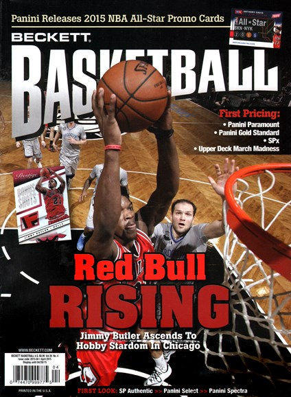 Beckett Basketball Cover - 4/1/2015
