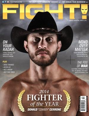 Fight Magazine | 2/1/2015 Cover