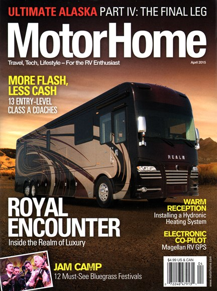 MotorHome Cover - 4/1/2015