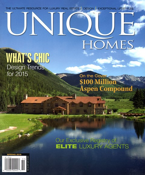 Unique Homes Cover - 3/1/2015