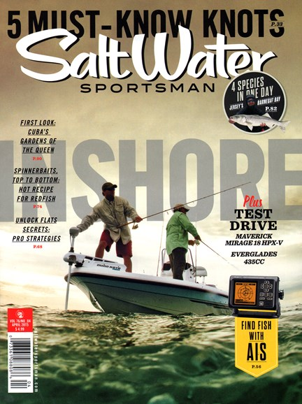 Salt Water Sportsman Cover - 4/1/2015
