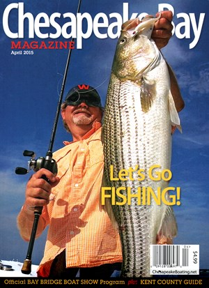 Chesapeake Bay Magazine | 4/1/2015 Cover