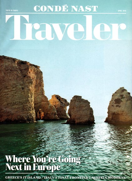 Condé Nast Traveler Cover - 4/1/2015
