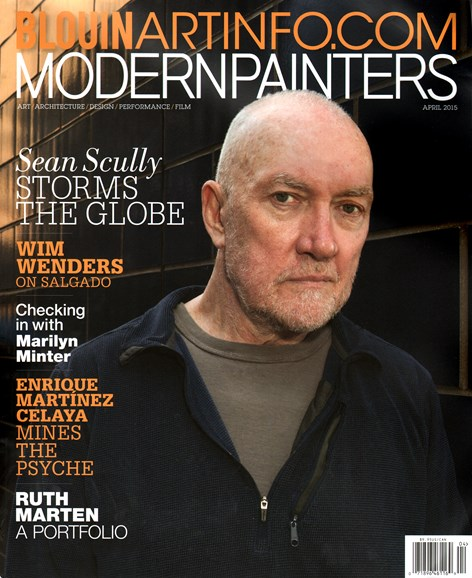 Blouin Modern Painters Cover - 4/1/2015