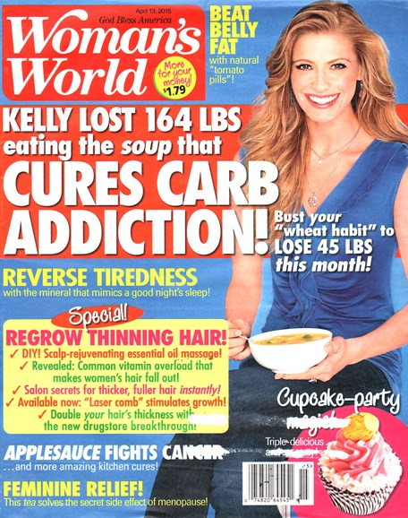 Woman's World Cover - 4/13/2015