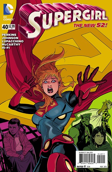 Supergirl Cover - 5/1/2015