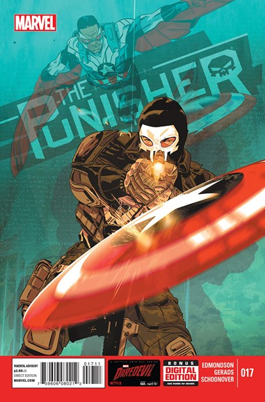The Punisher Cover - 6/1/2015