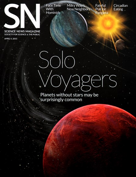 Science News Cover - 4/4/2015