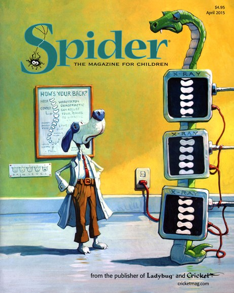 Spider Cover - 4/1/2015