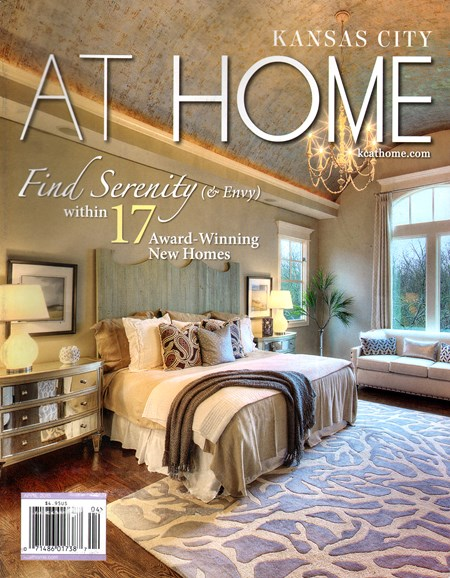 Kansas City Homes & Gardens Cover - 4/1/2015