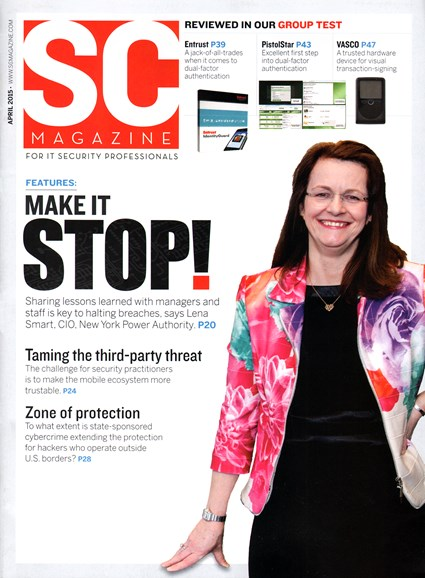 SC Magazine - U.S. edition Cover - 4/1/2015