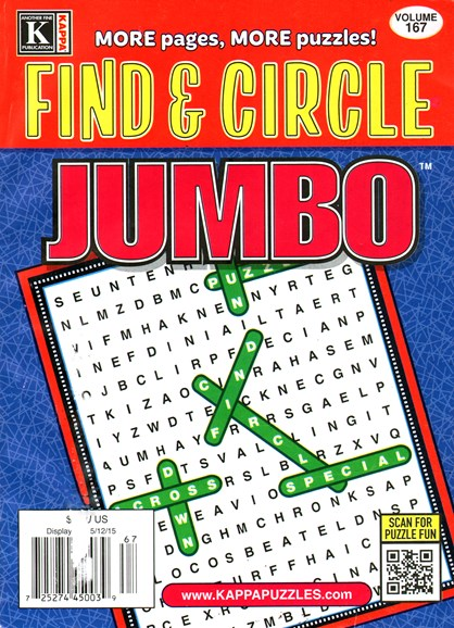 Find & Circle Jumbo Cover - 5/1/2015