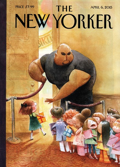 The New Yorker Cover - 4/6/2015