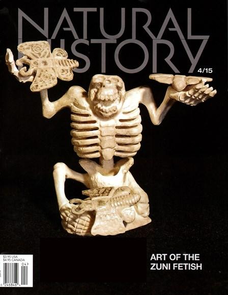 Natural History Cover - 4/1/2015
