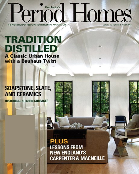 Period Homes Cover - 3/1/2015