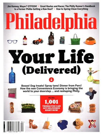 Philadelphia Magazine Cover - 4/1/2015