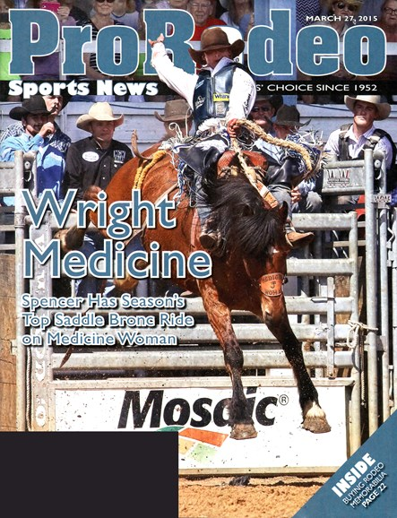 Pro Rodeo Sports News Cover - 3/27/2015