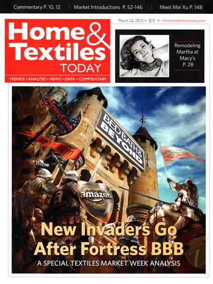 Home & Textiles Today Cover - 3/22/2015
