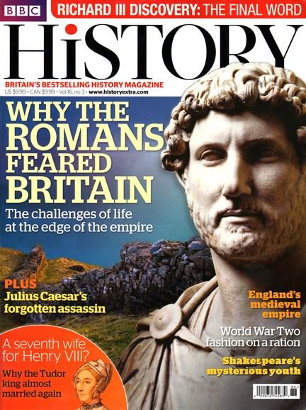 BBC History Cover - 3/1/2015