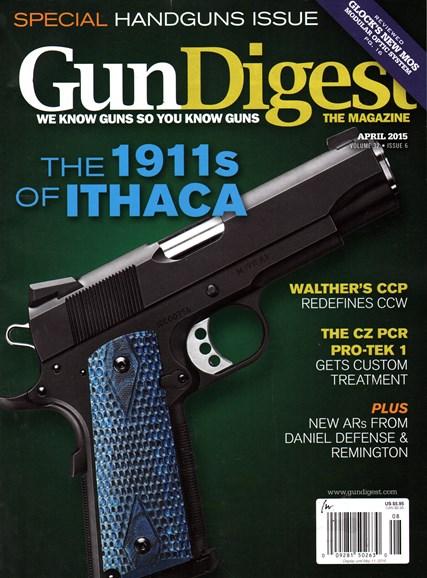 Gun Digest Cover - 4/1/2015
