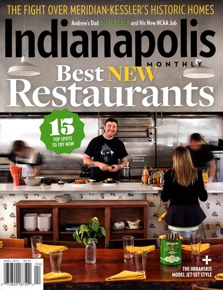Indianapolis Monthly Cover - 4/1/2015