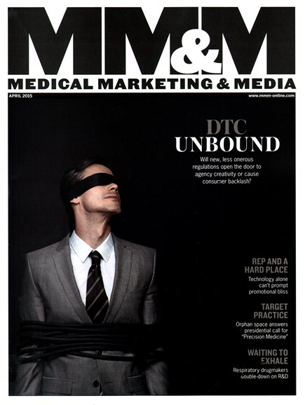 Medical Marketing & Media Cover - 4/1/2015
