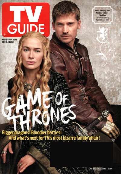 TV Guide Cover - 4/6/2015