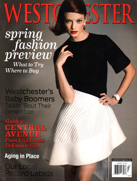 Westchester Magazine Cover - 4/1/2015