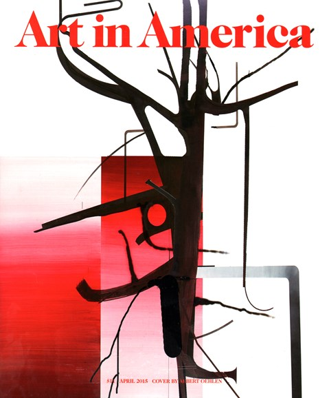 Art In America Cover - 4/1/2015