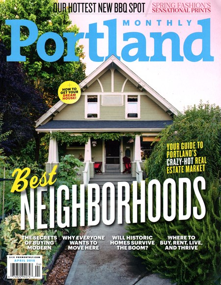Portland Monthly Cover - 4/1/2015